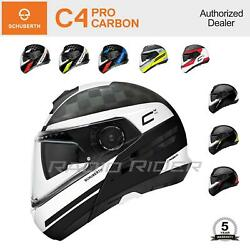 Schuberth C4 Pro Carbon Motorcycle Flip-up Helmet   All Sizes And Colors Free Ship