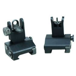 PSD Micro Flip Up Rapid Transition Front and Rear Iron Sight Set $20.45