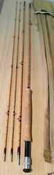 A Stunning Vintage Hardy Gold Medal Trout Fly Rod 2 Tips Mint Looks Unused
