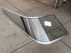 1998 Chris Craft 200 Br Jp Right Side Curved Windshield Glass Whole Piece