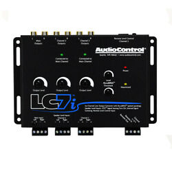Audiocontrol Lc7i 6-channel Line Output Converter With Accubass Circuitry New