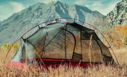 Ultralight 3.3 Lbs Backpacking 2 Person Tent W/ Rainfly Freestanding And 2 Doors