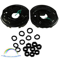 10 X 2-1/4 Left And Right Trailer Electric Brake Assembly 3500 Lbs For Pair
