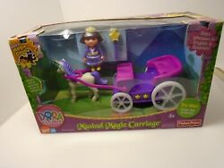 2006 Fisher Price Dora The Explorer Musical Magic Carriage Ages 3+ Unopened