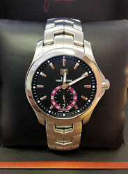Tag Heuer Link Wjf211d 39mm Tiger Woods 2007 With Papers Serviced