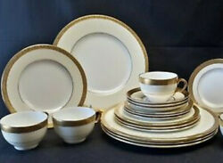 Minton Buckingham K159 12 5 -piece Place Settings - Set Of 60 Pieces Used Once
