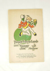 Through Foreign Lands With Sunny Jim Antique Advertising Book W. W. Denslow Art