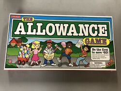 The Allowance Game Lakeshore Childrenand039s Board Game Save Spend Money Nib Sealed