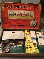Bachmann Plasticville Usa House Unit H U - 7 Scaled To O And S Gauge