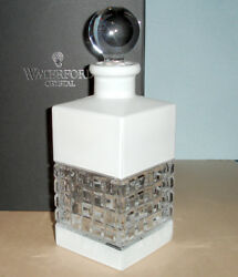 Waterford Crystal London Square White Decanter 25oz 40018769 New In Box