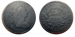 Large Cent/penny 1796 Sheldon 113 Rarity 5+ Beauty Top Tier Census