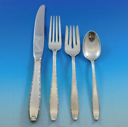 Southern Charm By Alvin Sterling Silver Flatware Set For 8 Service 32 Pcs