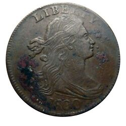 Large Cent/penny 1800/1798 Top Census Terminal Die State Corroded