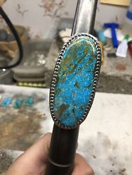 Sterling Silver Rings Turquoise Size 11
