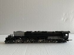 Tenshodo 4-8-8-4 Big Boy With Tender Union Pacific Up 4018 Ho Scale Train Brass