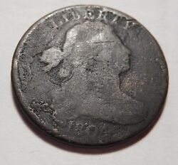 Large Cent/penny 1804 Sheldon 266 Die State C Devices Complete