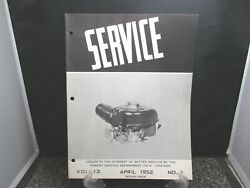 Orig 1952 Vtg Sears Service Co. 2 Cycle Engine Manual 571.270 Allstate Scooter