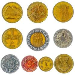 10 Different Coins From Many World Countries. Randomly Picked Money Collection