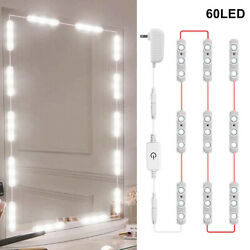 10ft Mirror Led Light With Remote For Cosmetic Makeup Vanity Lighted White Kit