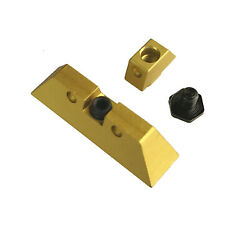 Gold Front Rear Sight 6.5 Mm For Glock 17 19 22 23 24 26 27 31 34 35