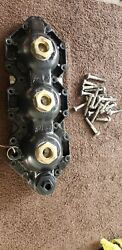 344043 Stbd. Cylinder Head 1997 Evinrude Johnson Ficht 150hp Outboard + Bolts .