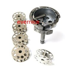 Large Rotary Hook 265093 265361+5 Bobbins For Singer 144w 145w Consew 744r 745r