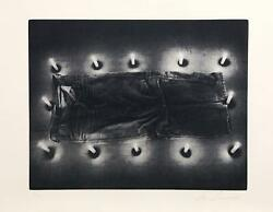 Les Levine, Jeans From The Candelight Series, Photo-etching, Signed And Numbered