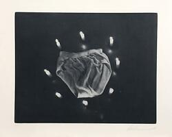 Les Levine Underwear From The Candlelight Series Photo-etching Signed And Num