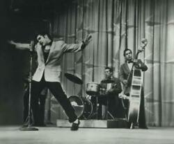 Unknown Artist Elvis Performing On Television Show Reproduction Photograph