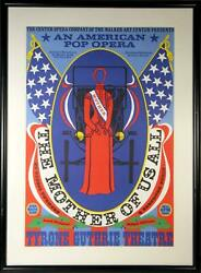 Robert Indiana The Mother Of Us All Screenprint Poster