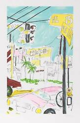 Vasilios Janopoulos, Works Miami, Lithograph, Signed And Numbered In Pencil