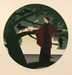 Will Barnet, Ariadne, Screenprint, Signed And Numbered In Pencil