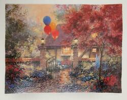 Andrew Warden, Celebration, Screenprint, Signed And Numbered In Pencil
