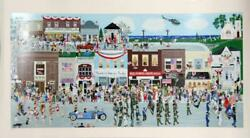 Denielle Spohn Moes, Welcome Home, Screenprint, Signed And Numbered In Pencil