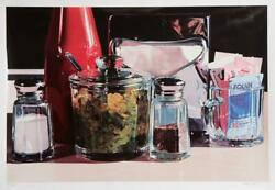 Ralph Goings Relish Screenprint Signed And Numbered In Pencil