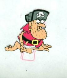 Jay Ward, Untitled - Cap'n Crunch Pirate 14, Acetate Cel And Pencil Drawing