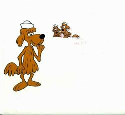 Jay Ward, Sailor Dog Animation Collection, 10 Hand-painted Acetate Cels And 9 Pe