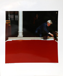 Curtis Knapp Andy Warhol Red Series 4 Color Photograph Signed And Numbered