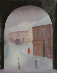 Branko Bahunek View From Stable Oil On Canvas