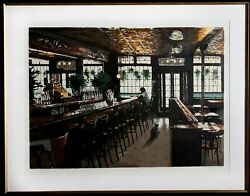 Harry Mccormick, The Landmark Tavern, Screenprint, Signed And Numbered In Pencil