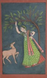 Unknown Indian Painting 12 Gouache On Paper
