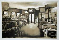 Harry Mccormick, Russian Tea Room, Screenprint, Signed And Numbered In Pencil