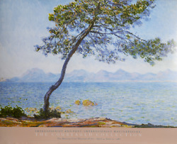 Claude Monet The Courtald Collection - Antibes Poster Mounted On Foamcore