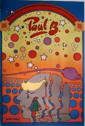 Peter Max, Paul B, Poster, Signed And Dated In Marker