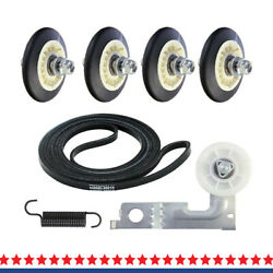 4581el2002c Dryer Drum Roller Assembly Repair Kit Compatible With Lg Kenmore
