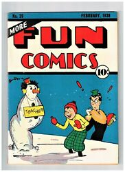 More Fun Comics 29 Vf+ Appearance Dr Occult Superman Prototype 1395