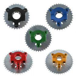 415 Chain 32-44t Tooth Sprocket 1.5 Adapter For 80cc 66cc 60 Motorized Bike Us