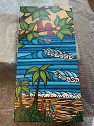 Heather Brown Gclee On Canvas Art Hawaii Sweetheart Genuine Rare F/s From Japan