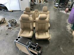2011-2014 Ford F150 Front Seat Bench Eletric Tan Leather Heat/cool/mem/pwr