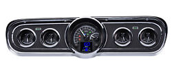 1965-66 Ford Mustang Hdx System Black Face